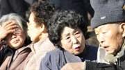 Auf der japanischen Insel Okinawa sind die vielen sehr alten Menschen die Attraktion, AFP