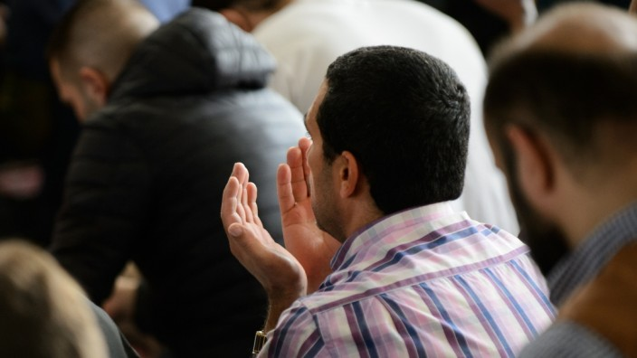 Muslims Gather For Friday Prayers As Elections Loom