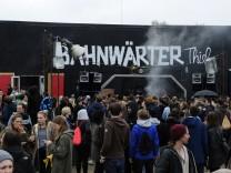 """""""Bahnwärter Thiel"""" in München, 2016"""