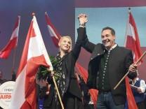 Wahlkampfauftakt Wahlveranstaltung der Freiheitlichen Partei Österreichs für die Nationalratswahl