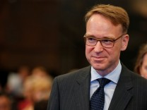 Deutsche Bundesbank (German Federal Bank) President Weidmann attends the âĘG20 Africa Partnership âē Investing in a Common FutureâÄÖ Summit in Berlin