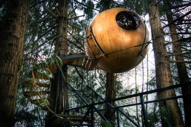 Free Spirit Spheres Foto: Tom Chudleigh