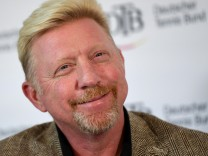 Podiumsdiskussion mit Boris Becker