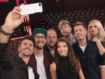 Fotocall 'The Voice of Germany'