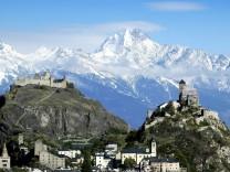 Erster Schnee in den Schweizer Alpen