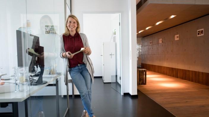 Kerstin Reimers  im Social Impact Lab, Balanstraße 73, Haus 21 A. Unternehmensgründungen für Flüchtlinge