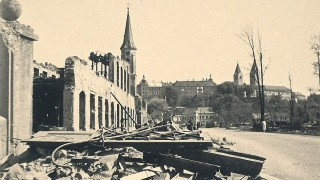 Bombenangriff auf Freising 18.4. 1945