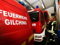 Drangvolle Enge im Feuerwehrhaus; FFW Gilching