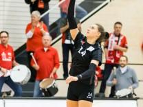 Lena Stigrot Rote Raben Vilsbiburg 14 bei der Angabe Volleyball Volleyball Bundesliga Frauen S; Lena Stigrot