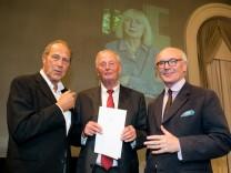 Verleihung Thomas Mann Preis in der Bayerischen Akademie der Schönen Künste