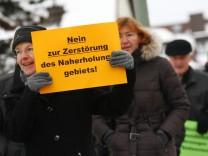 Olching: Demonstration gegen geplante Ortsumfahrung
