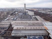 """Firmengelände """"Maurer und Söhne"""" in München, 2013"""