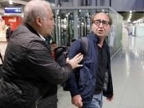 Dogan Akhanli aus Spanien eingetroffen