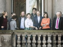Treffen von FDP und Gr¸nen vor der Sondierung
