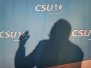 CSU im Schatten, ddp