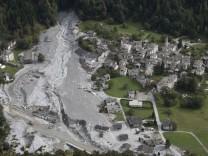 Nach Bergsturz in der Schweiz