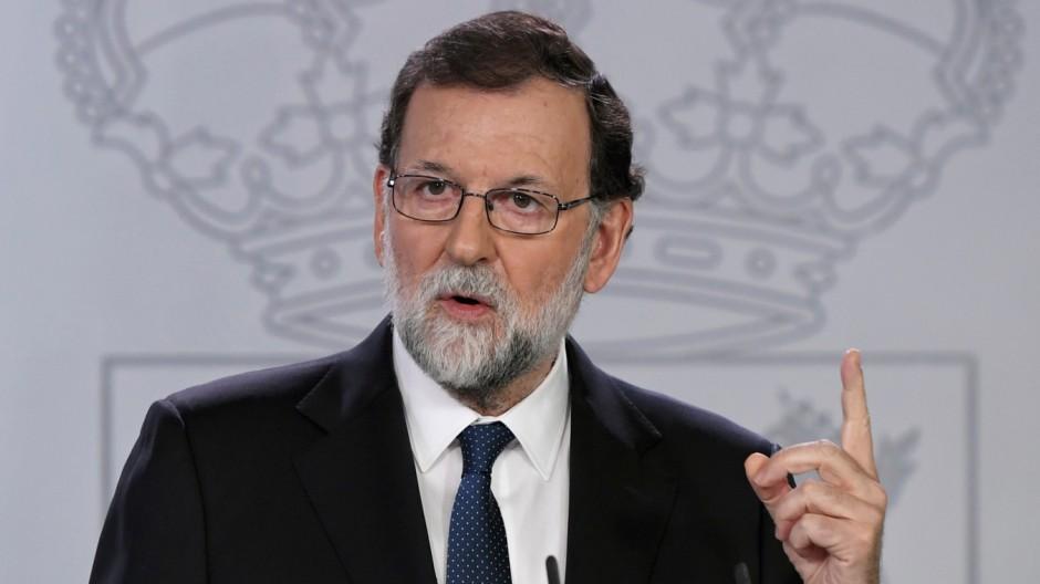 Politik Spanien Katalonien-Krise