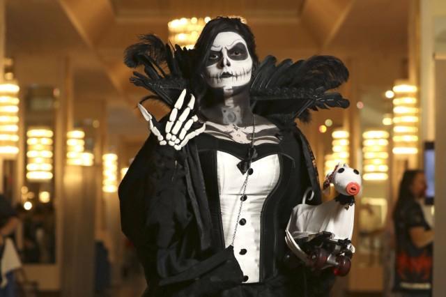 Nightmare Before Christmas Fan Jack Skellington auf der 1 FearCon im Maritim Hotel Bonn 20 10