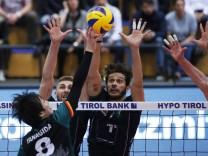 VOLLEYBALL VBL Tirol vs Ingersoll INNSBRUCK AUSTRIA 21 OCT 17 VOLLEYBALL VBL Hypo Tirol Alpe