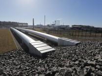 Die Anlandestation der Nord Stream-Pipeline in Deutschland