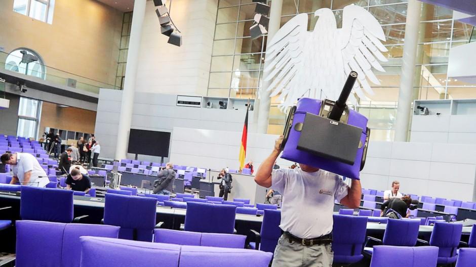 Bundestag konstituierende sitzung afd