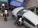 Autounfall Feuerwehr