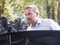 Christian Lindner FDP Chef bei der Buchvorstellung Schattenjahre Die Rückkehr des politischen Lib