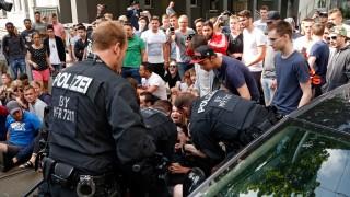 Demonstrant nach Abschiebeversuch vor Gericht
