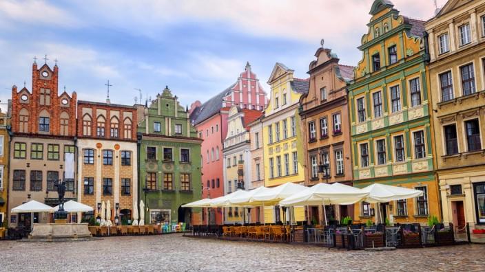 Poznán, Polen - Stary Rynek (alter Marktplatz)