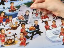 FC Bayern-Adventskalender mit Carlo Ancelotti