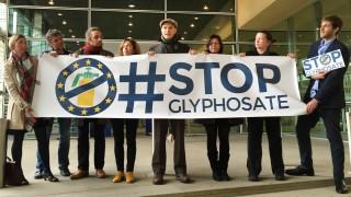 Protest gegen Glyphosat