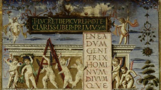 """""""De rerum natura"""" von Lukrez"""