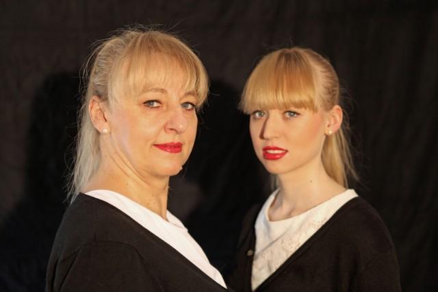 Schauspielerin Johanna Bittenbinder und Tochter Veronika Bittenbinder, Musikerin