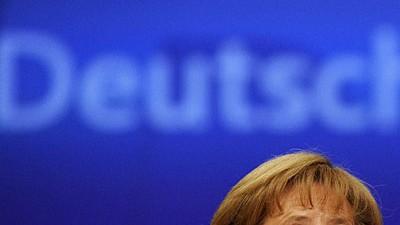 CDU-Vorstoß ärgert Merkel