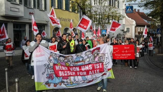 Streik Amperkliniken