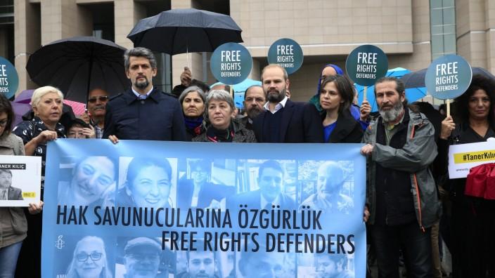 Protest gegen Prozess in Istanbul