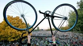Fahrrad Critical-Mass-Bewegung