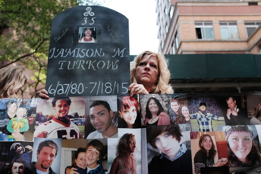 National Overdose Awareness Day March Held In New York