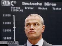 Carsten Kengeter an der Börse