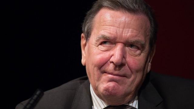 SPD-Altkanzler Gerhard Schröder