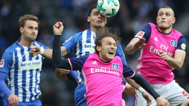 Hertha BSC v Hamburger SV - Bundesliga