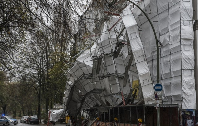Sturmtief Herwart in Berlin
