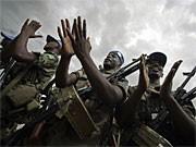 Blauhelmsoldaten in Darfur; Reuters