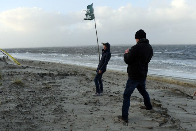 Sturmtief Herwart im Norden