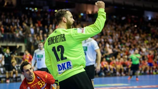Handball Länderspiel Deutschland - Spanien