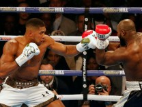Boxing: IBF and WBA heavyweight title fight between Anthony Joshua and Carlos Takam