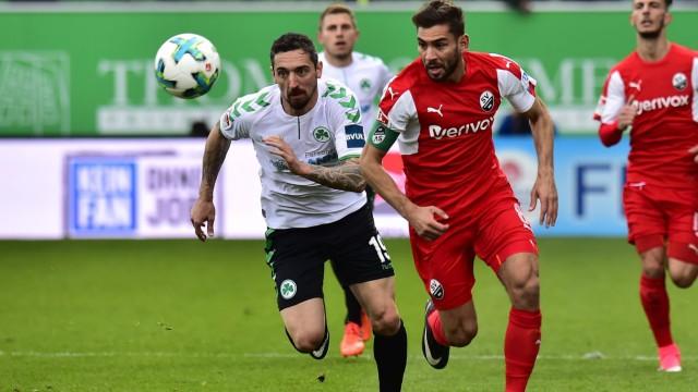 28 10 2017 Fussball Saison 2017 2018 2 Fussball Bundesliga 12 Spieltag SpVgg Greuther F