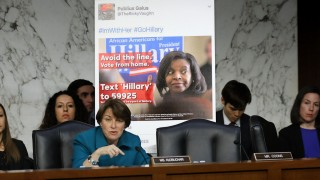 Facebook, Google And Twitter Executives Testify Before Congress On Russian Disinformation