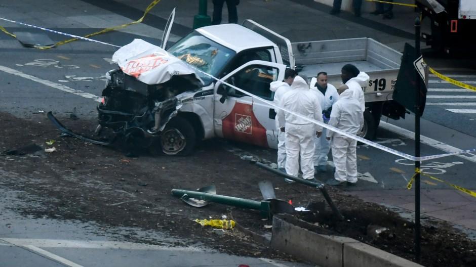 Was wir über den Anschlag in Manhattan wissen – und was nicht