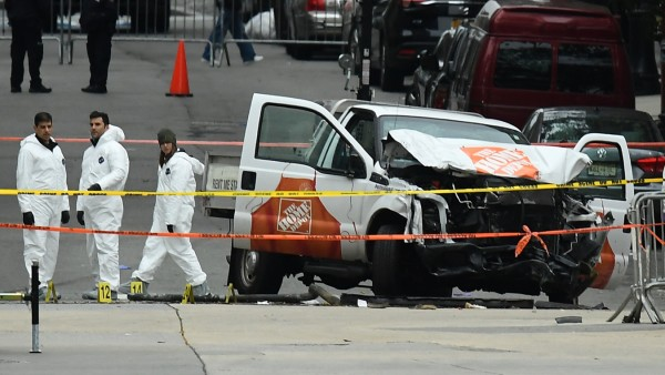 New York City Deals With Aftermath Of Terror Attack